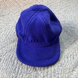 Vintage LL Bean Fleece hat w/ Ear flaps made in US
